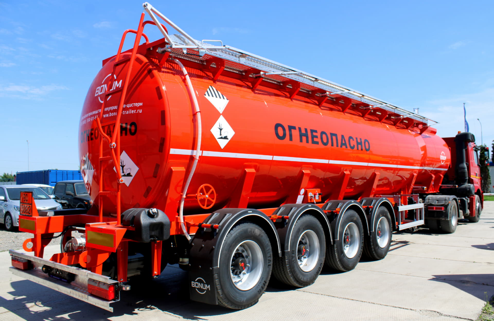 BONUM oil tanker 914221 (4 axles)